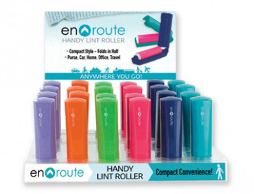 EN ROUTE LINT ROLLER 24PC DIS