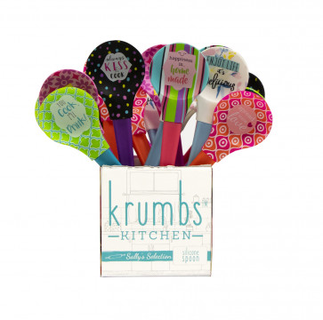 Krumbs Kitchen Silicone Spoons 24PCS ASST