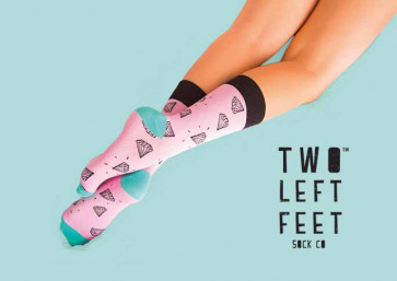 Two Left Feet Everyday Sock 140PC ASST