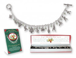 12 DAYS OF XMAS CHARM BR BOXED