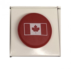 Canadian Flag Singles (Red)48 with a counter display unit
