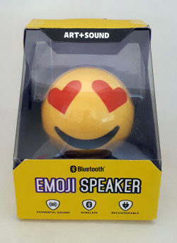 Emoji Love B/Tooth Speaker 2PCS