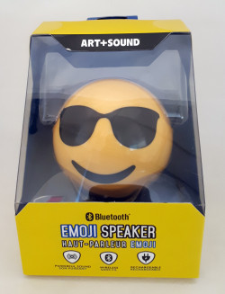 Emoji Cool/Sunglasses B/Tooth Speaker 2 PCS