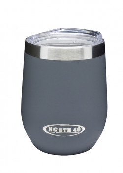 Insulated Tumbler With Lid  350 ml Grey
