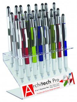ARCHITECT PEN 24 PC W/DISPLAY