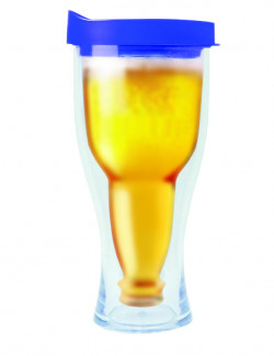REORDER: Double Wall Insulated Beer Tumbler 14 oz, 12 PC