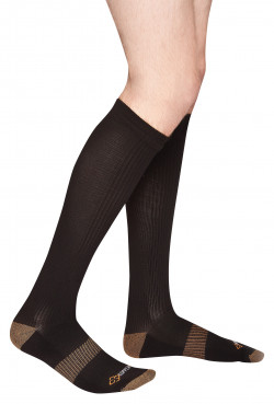 COPPER 88 LADIES KNEE SOCKS, ONE SIZE - MIN 2 PER STYLE