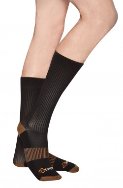 COPPER 88 LADIES MID SOCKS, ONE SIZE - MIN 2 PER STYLE