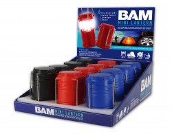 BAM MINI LANTERN 12PC DISPLAY