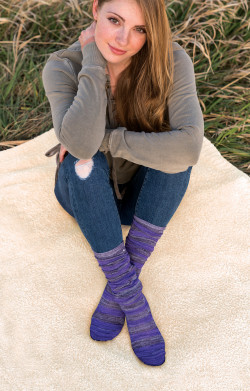 Britt's Knits Knee Socks Cambridge Collection