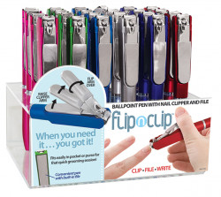 FLIP N' CLIP PEN 24PC ASST