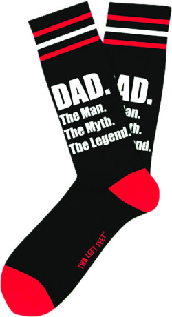 DAD TWO LEFT FEET SOCK 4PC