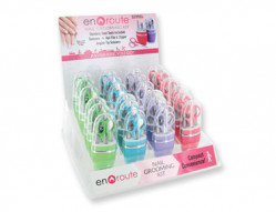 EN ROUTE 4 PC MANICURE SET 24 PC DISPLY