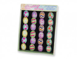 ESTR EGG BLING RING 24PC DISP