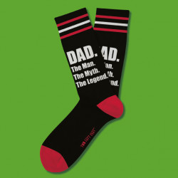 DAD TWO LEFT FEET SOCKS 24PC