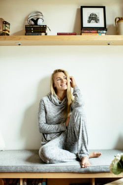 "Reorder: Hello Mello ""Carefree Threads"" Melange Lounge Pants"