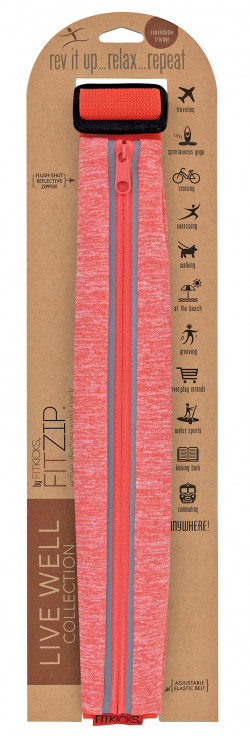 Live Well Collection FitZip Waist Pouch 24PCS