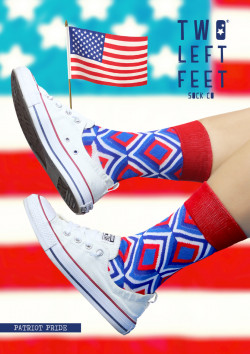 Reorder: USA Two Left Feet 4 per style/size