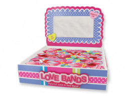 VAL LOVE BAND KNITTED HB 24PC