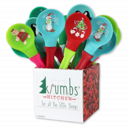Krumb's Kitchen Holiday Spoons 24PCS