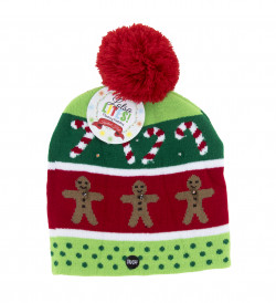 Light Up Knitted Hats 18PC Assortment
