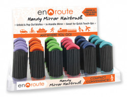 EN ROUTE MIRROR HAIRBRSH 24PC